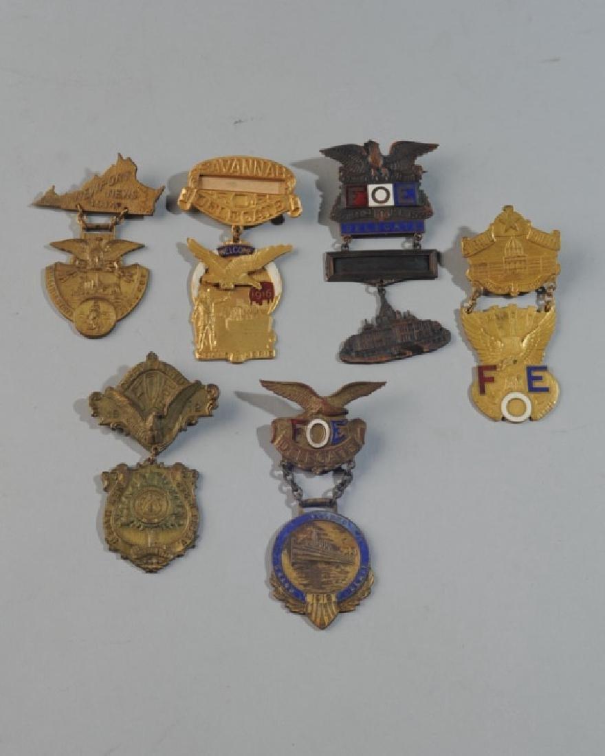 Fraternal Order of Eagles Badges