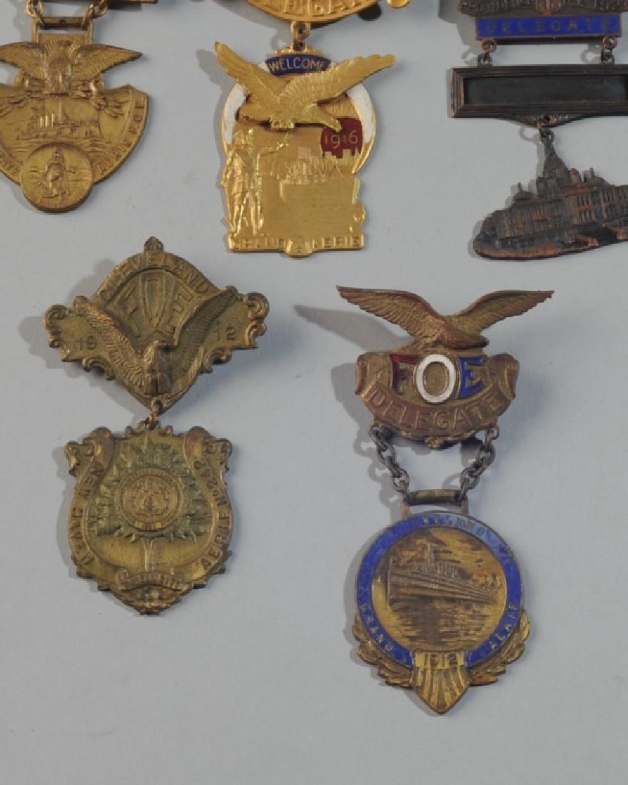 Fraternal Order of Eagles Badges - 2
