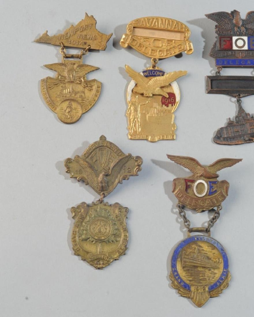 Fraternal Order of Eagles Badges - 3
