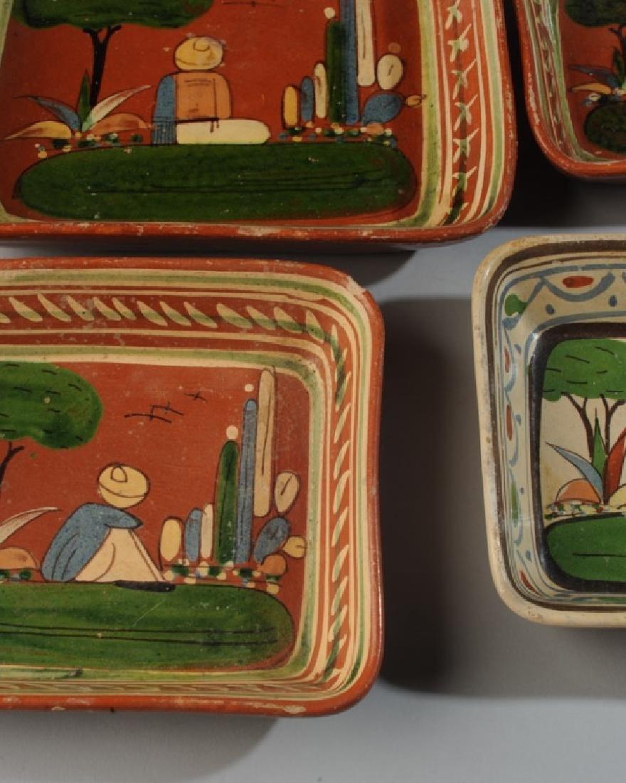 Circa 1940s Vintage Mexican Tlaquepaque Tourist Pottery - 2