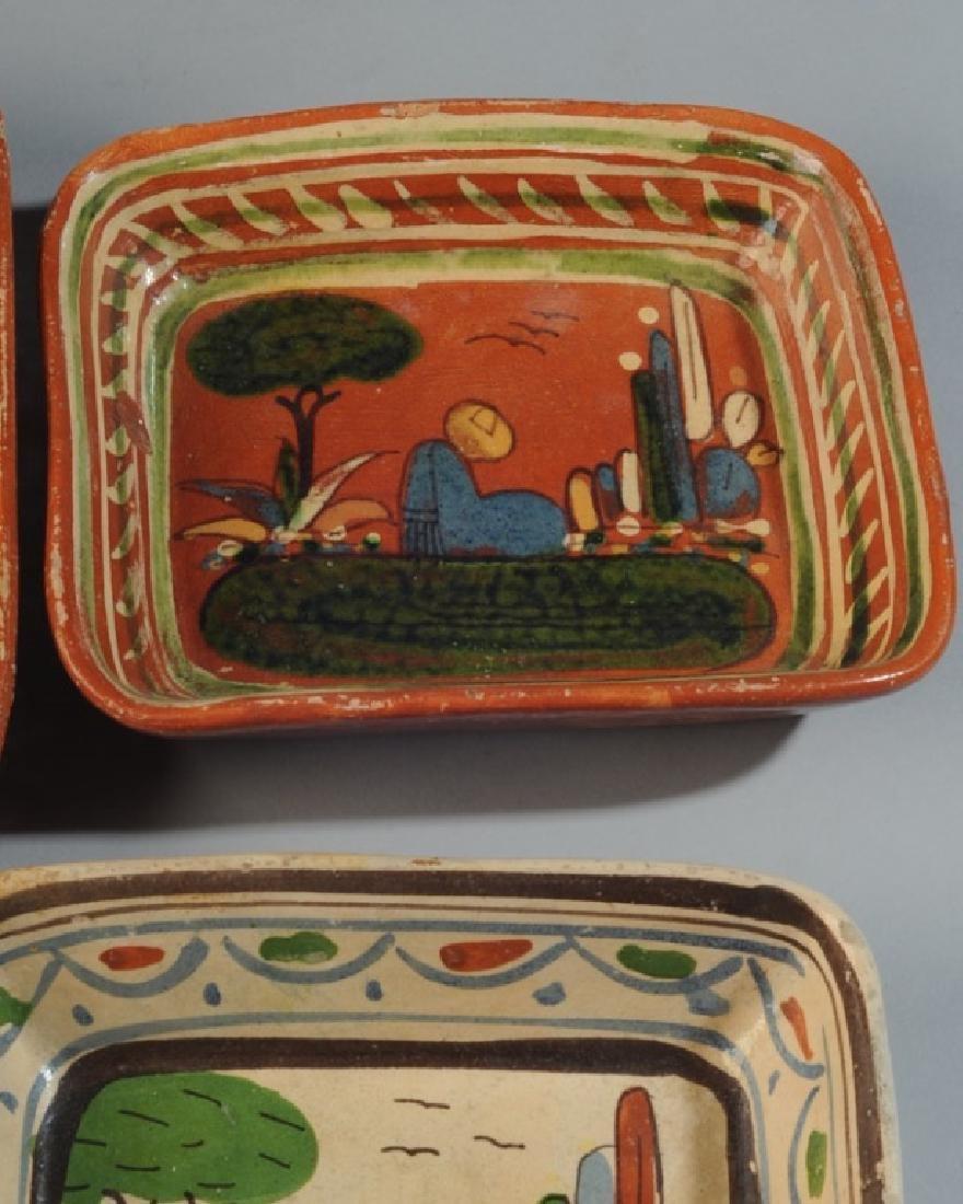 Circa 1940s Vintage Mexican Tlaquepaque Tourist Pottery - 5
