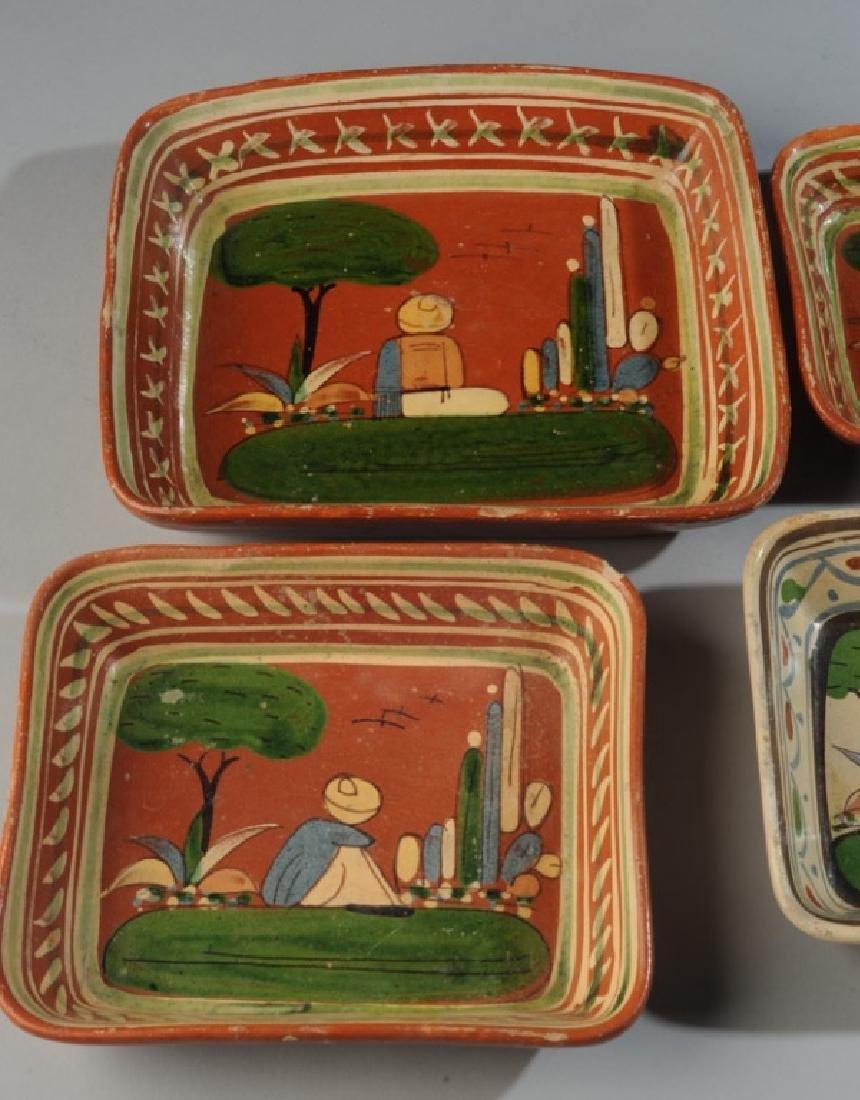 Circa 1940s Vintage Mexican Tlaquepaque Tourist Pottery - 6