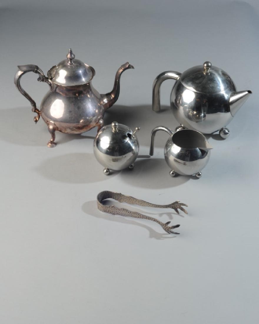 20th C. Modern Silverplate Tea Service