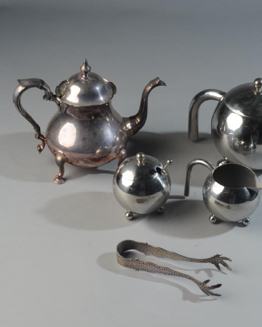 20th C. Modern Silverplate Tea Service - 2