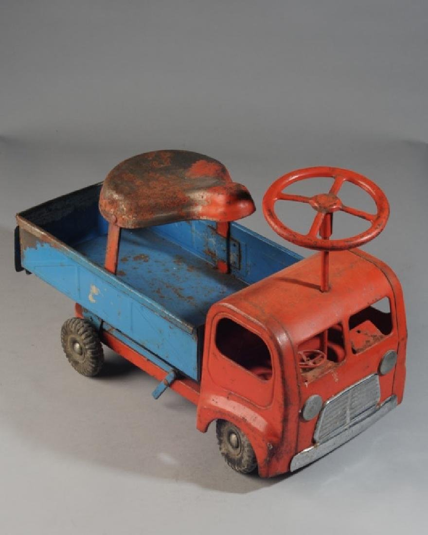 Vintage 1960s Toy Ride-On Truck