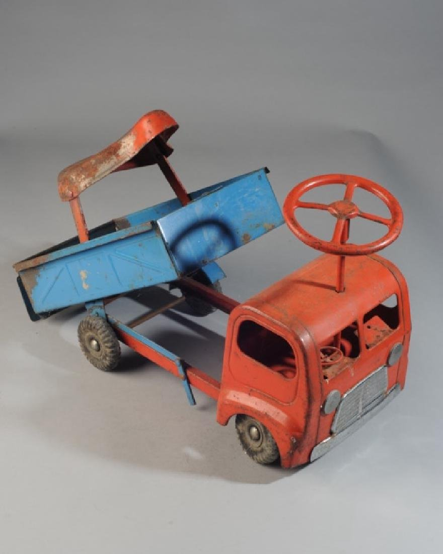 Vintage 1960s Toy Ride-On Truck - 2