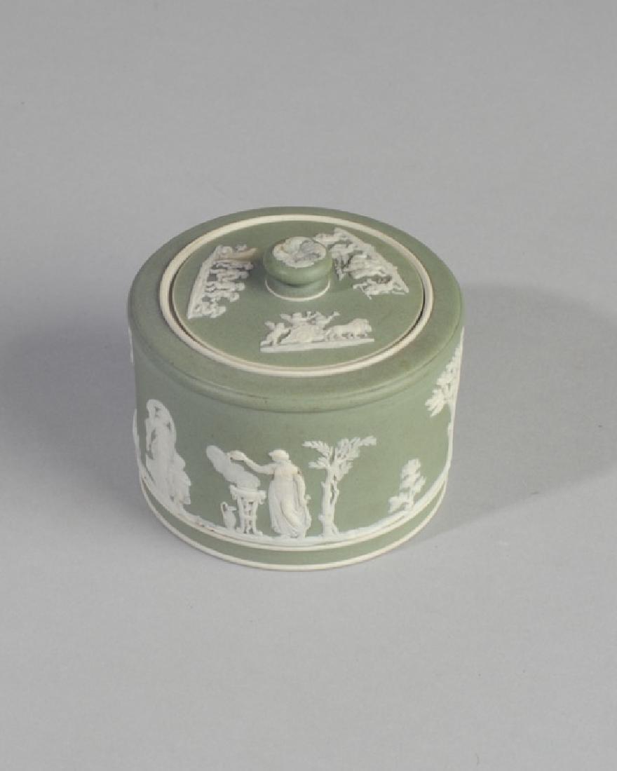 Wedgwood Jasperware Lidded Jar