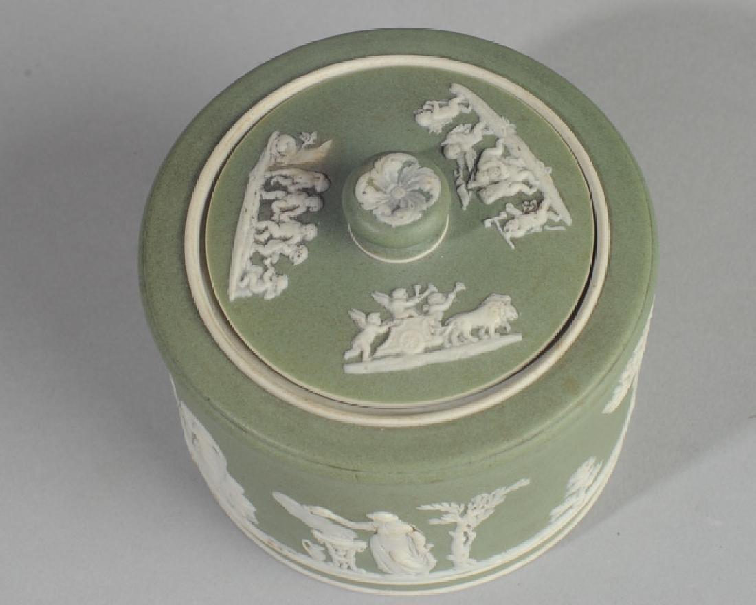 Wedgwood Jasperware Lidded Jar - 2