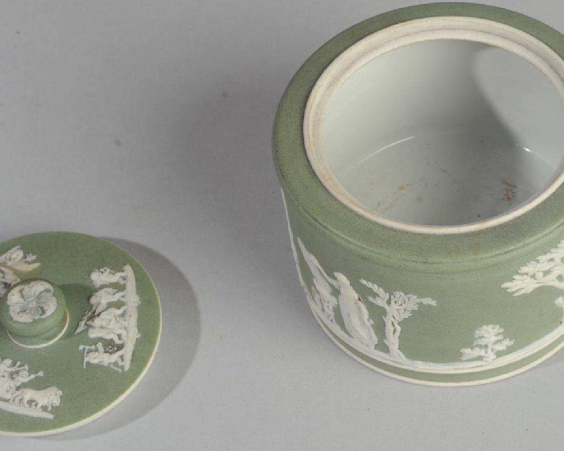 Wedgwood Jasperware Lidded Jar - 3