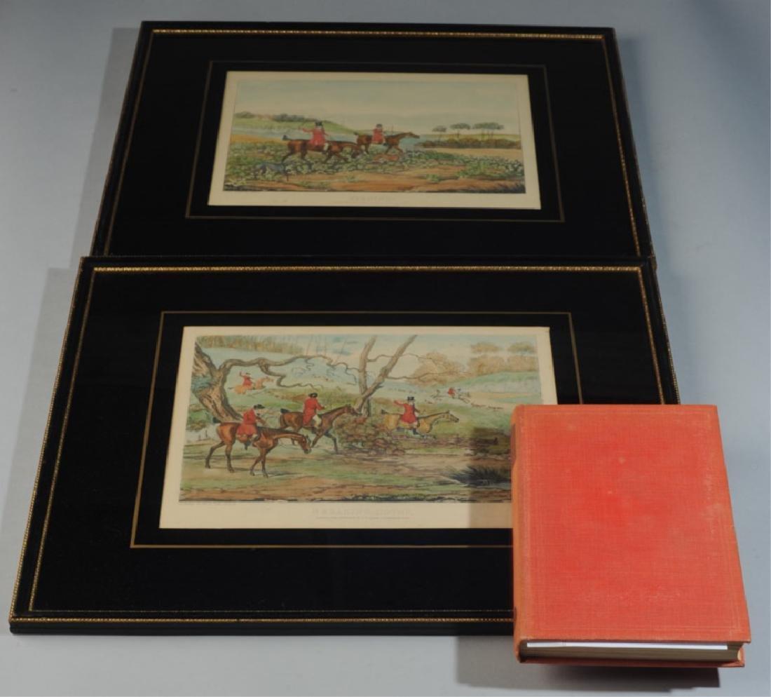 Two Henry Alken Hunt Prints