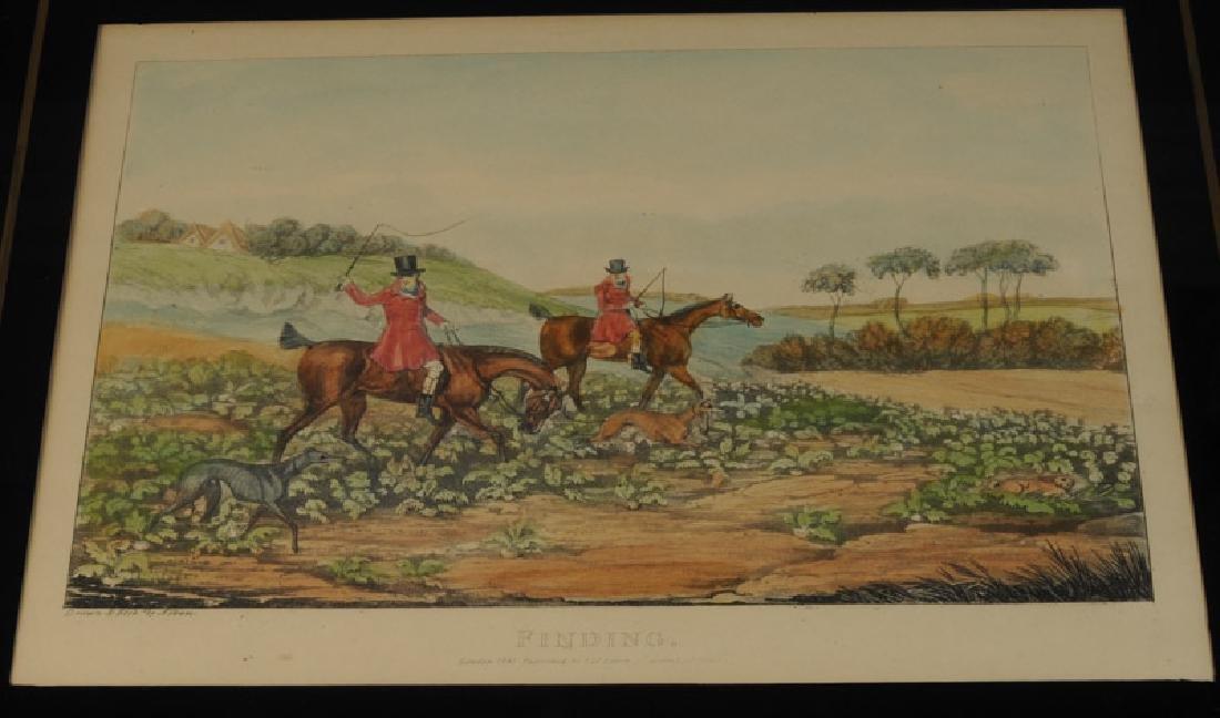 Two Henry Alken Hunt Prints - 3