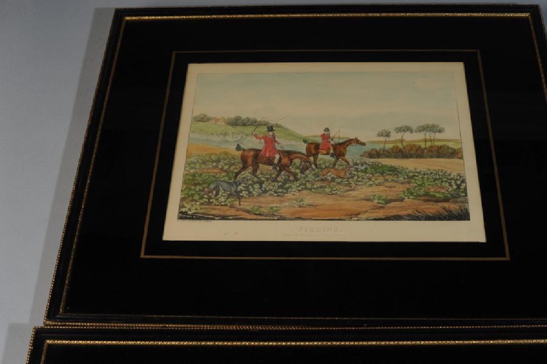Two Henry Alken Hunt Prints - 4