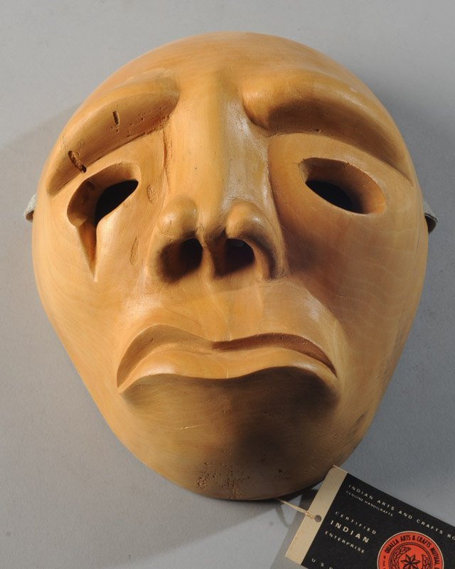 Cherokee Booger Mask Signed