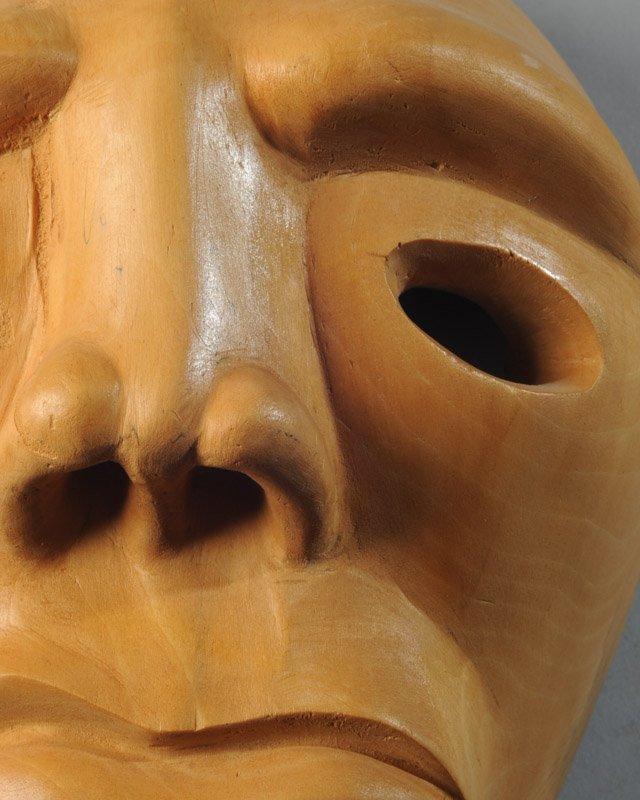 Cherokee Booger Mask Signed - 2