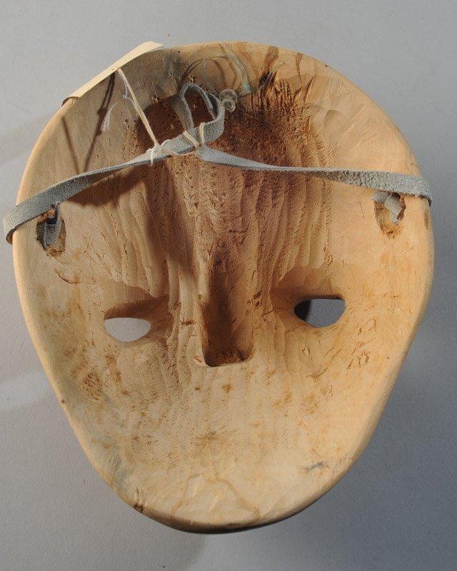 Cherokee Booger Mask Signed - 4