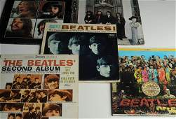 Lot of Vintage Beatles Albums