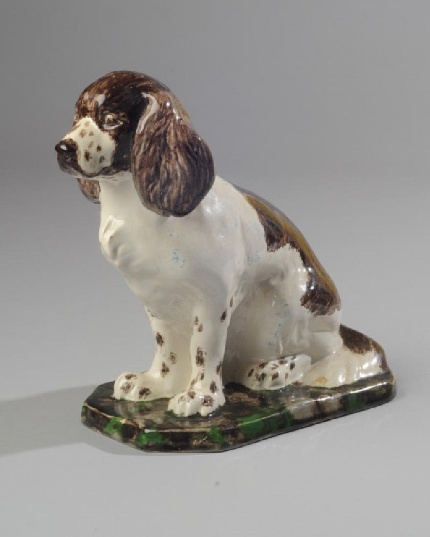 Fine German Werkstatte Ceramic Dog