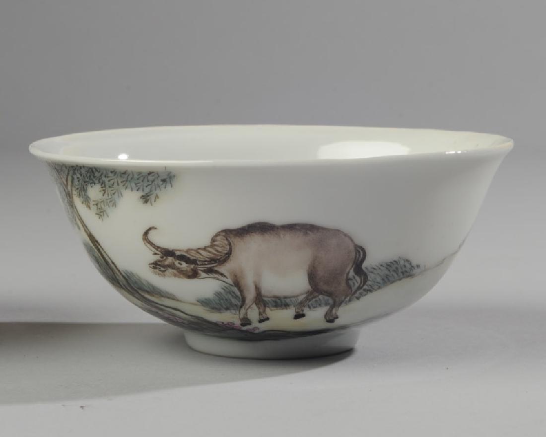 2 Chinese Republic Nanchang Zodiac Bowls - 2