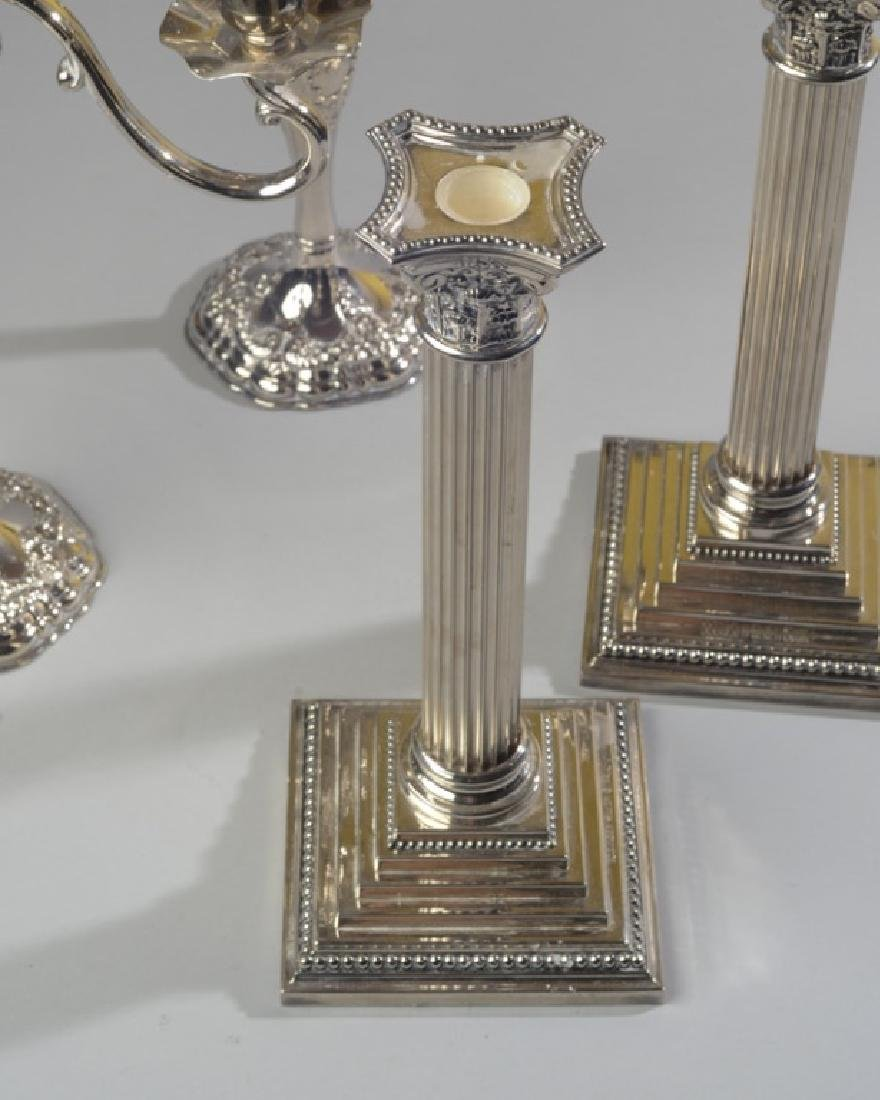 Silverplate Candlesticks - 2
