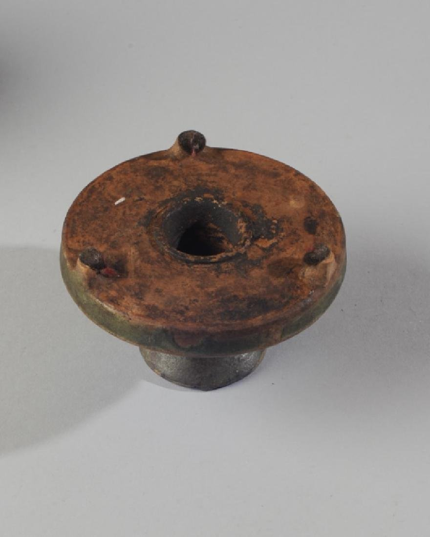 Chinese Oil Lamp or Censer with Cover - 5