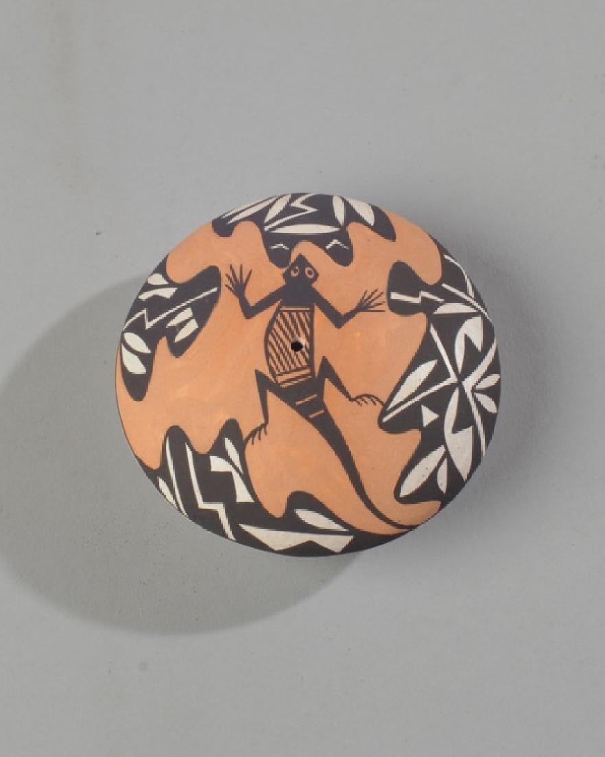 Acoma Native American Pottery Seed Jar