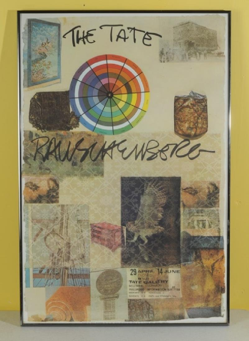 The Tate Rauschenberg Poster