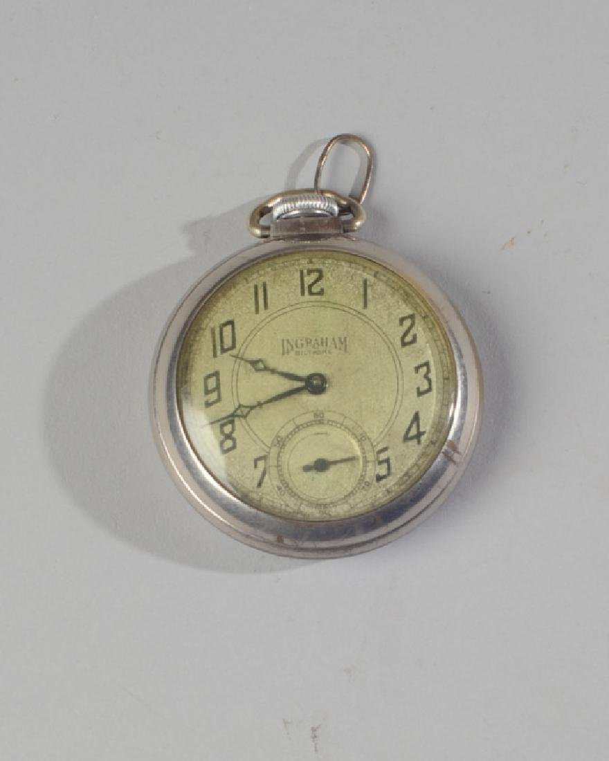 Ingraham Gentleman's Pocket Watch
