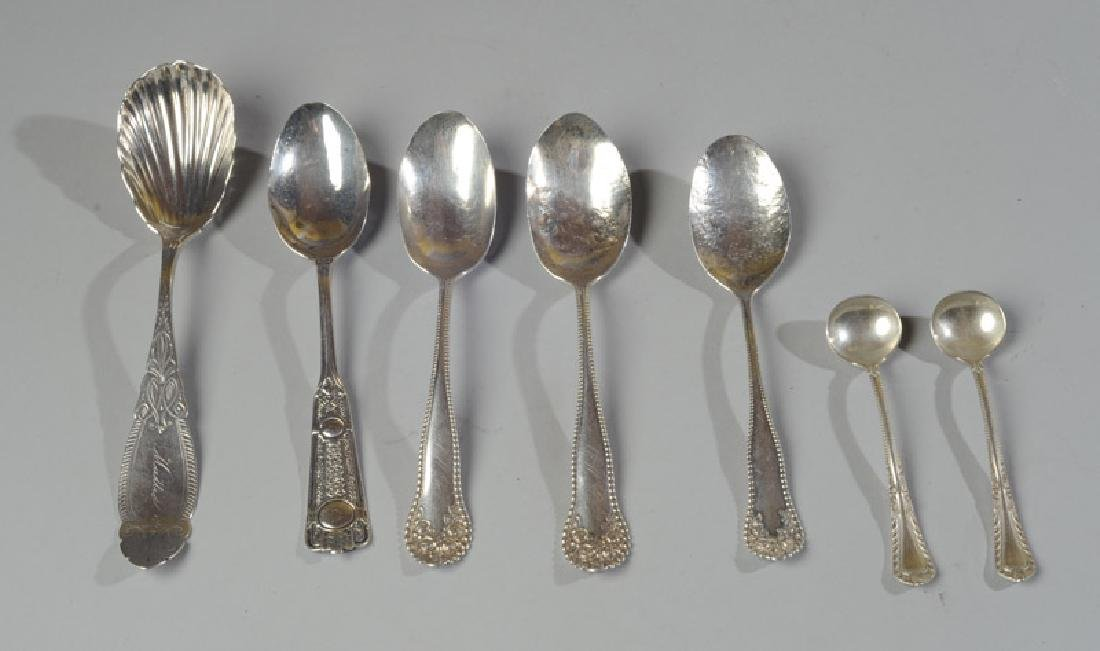 7 Sterling or Coin Silver Spoons