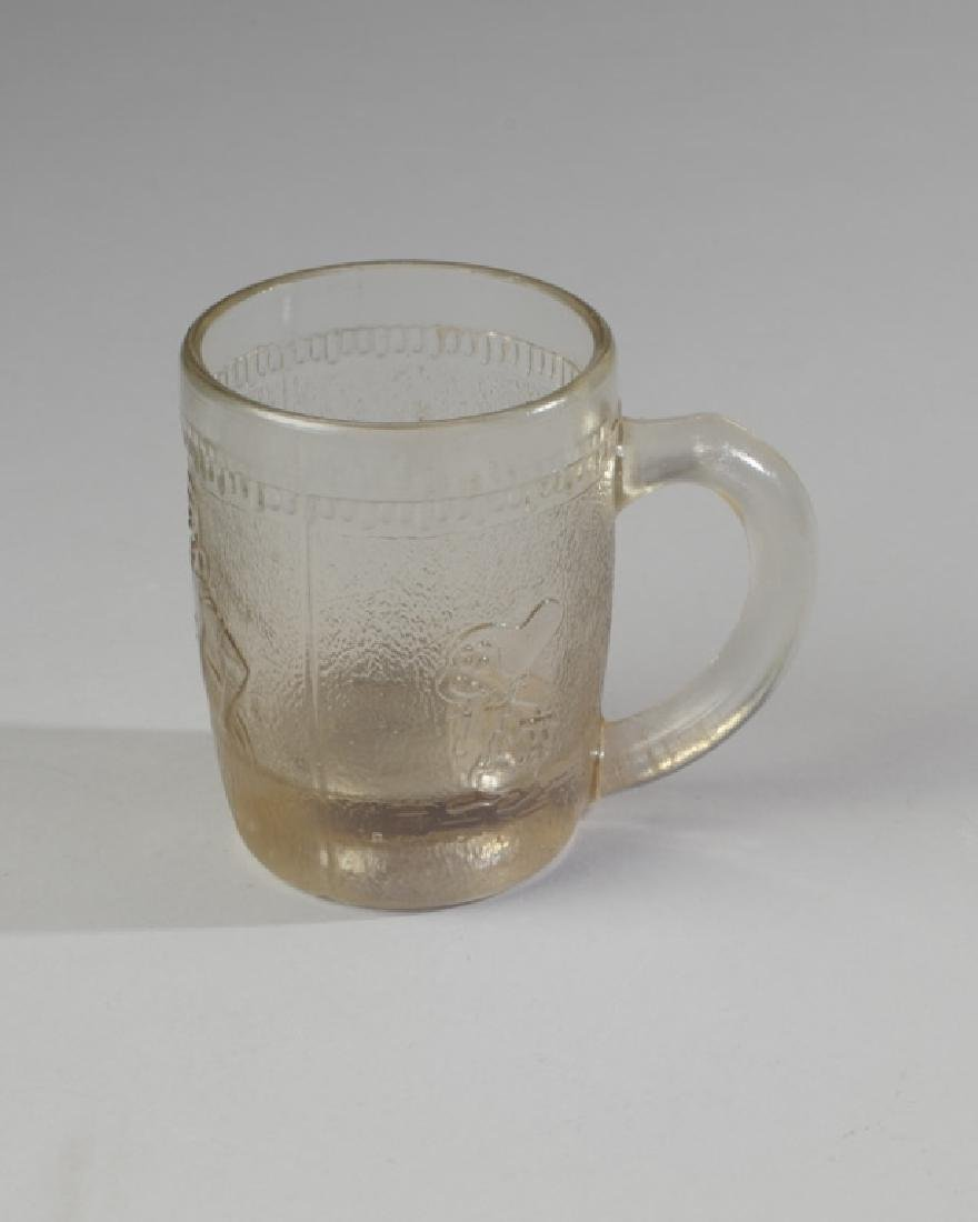 Vintage Disney Snow White Glass Mug