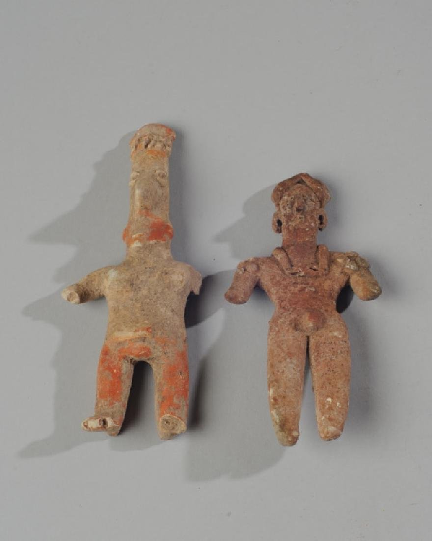 Two Early Mexican Human Pottery Effigies