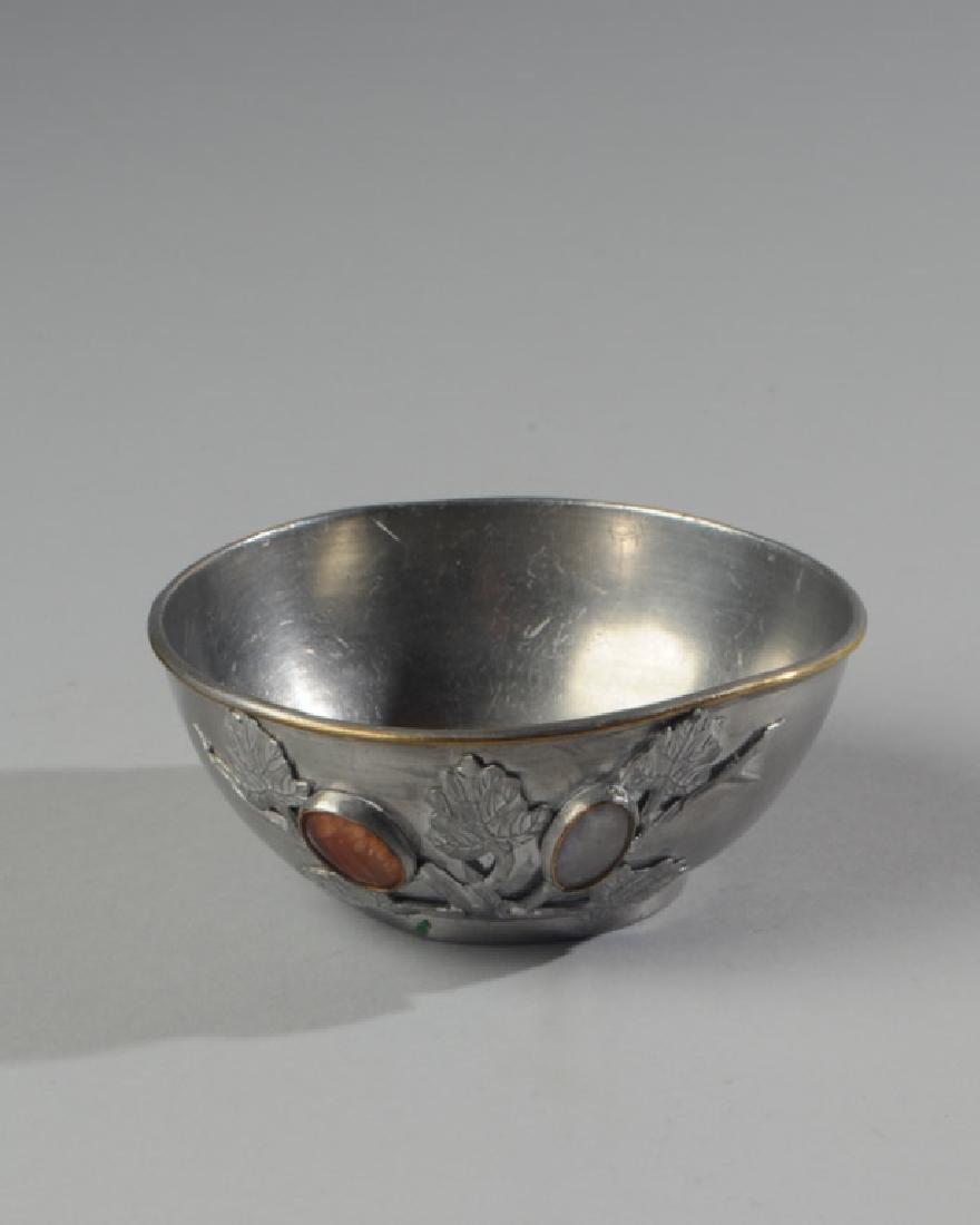 Chinese Pewter Bowl