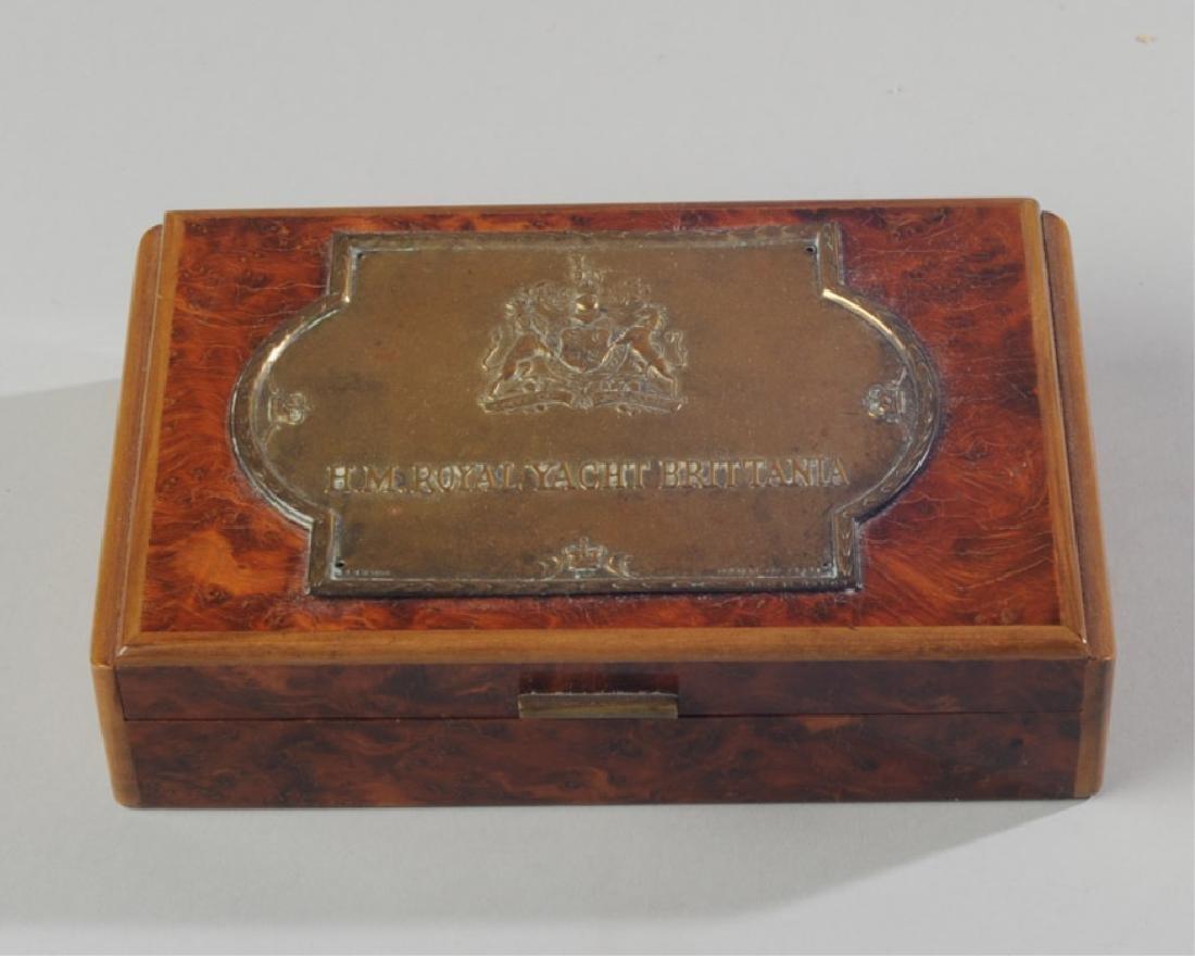H.M. Royal Yacht Brittania Box