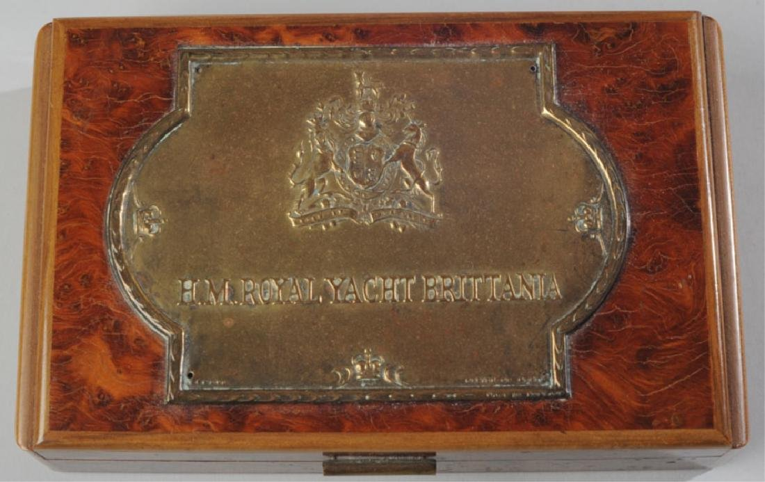 H.M. Royal Yacht Brittania Box - 2