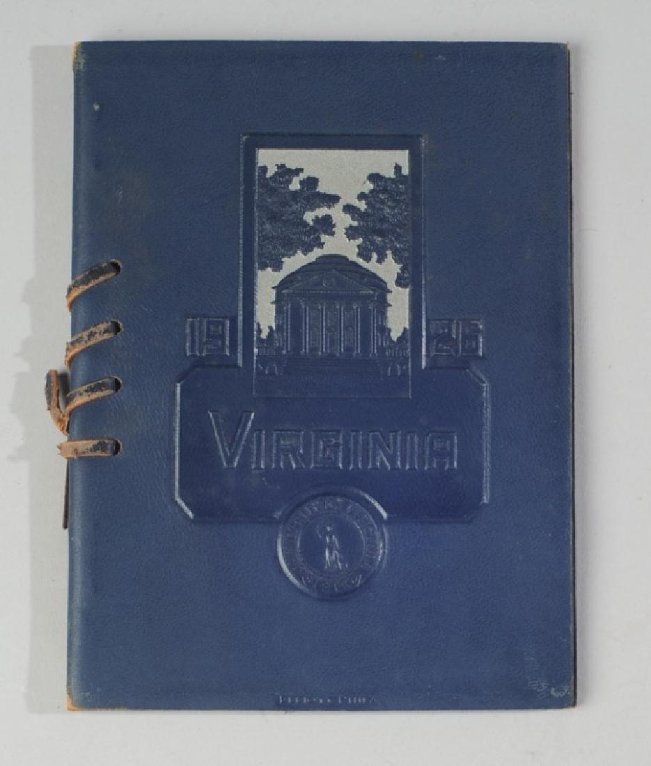 1926 University of Virginia Finals Program