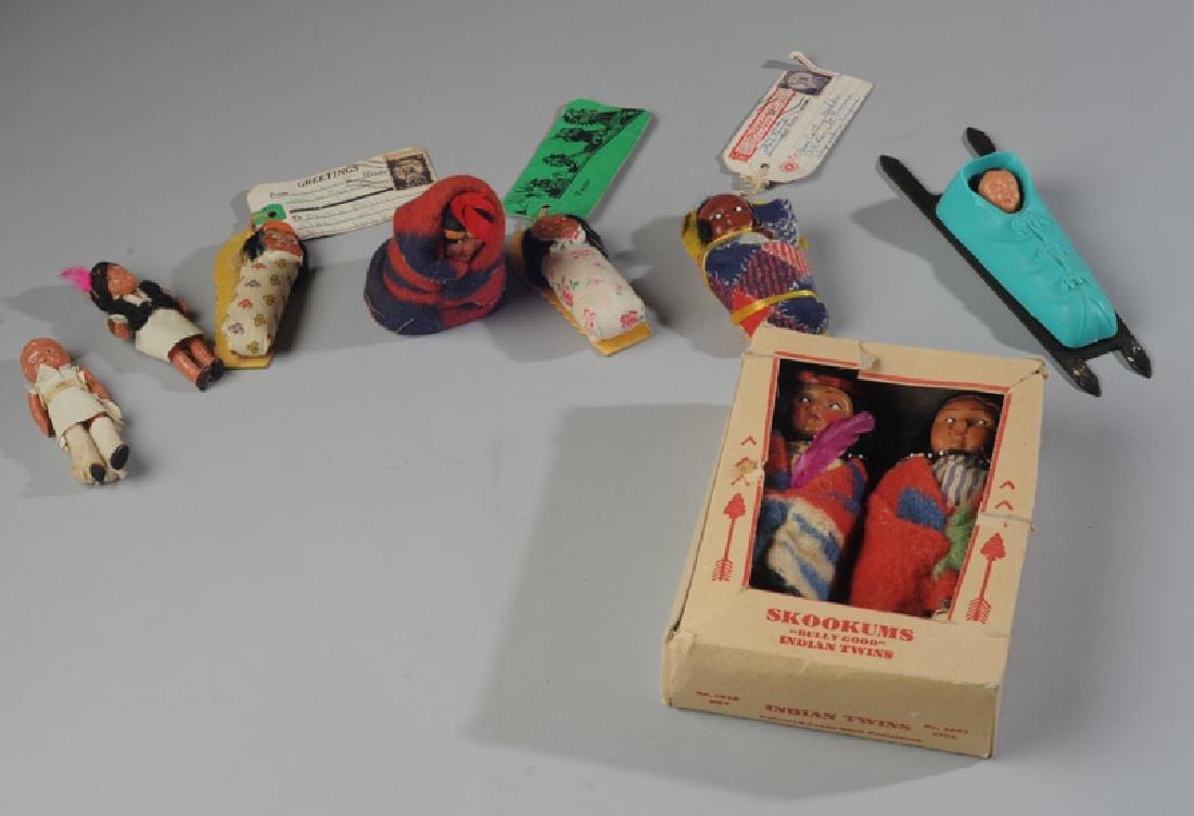 Lot of Native American Dolls