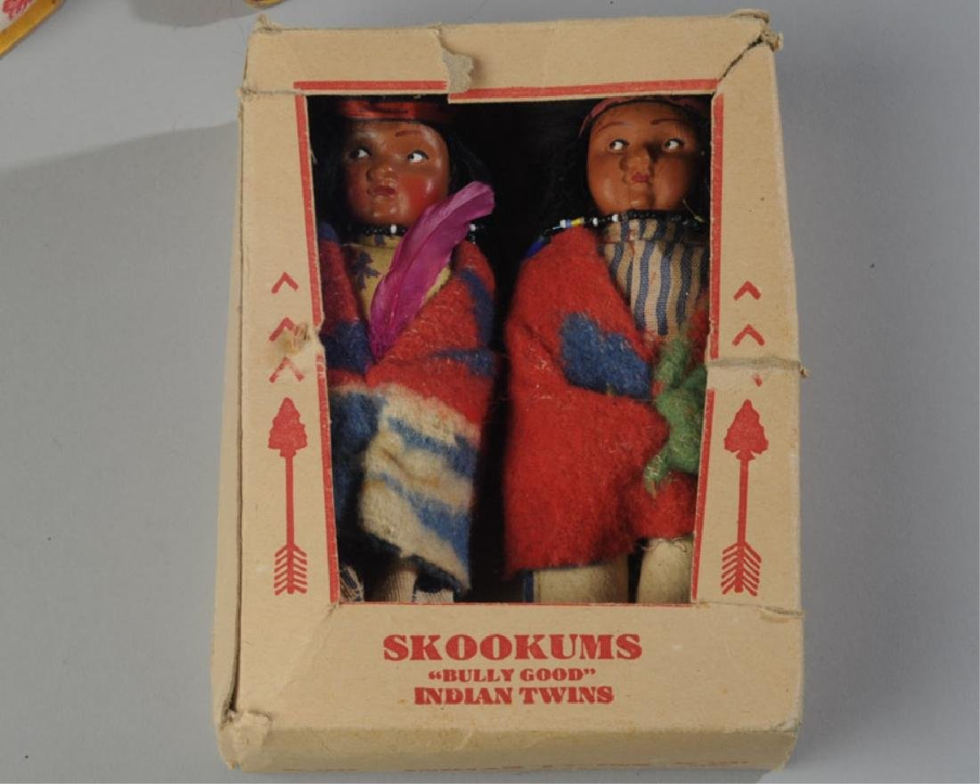 Lot of Native American Dolls - 5