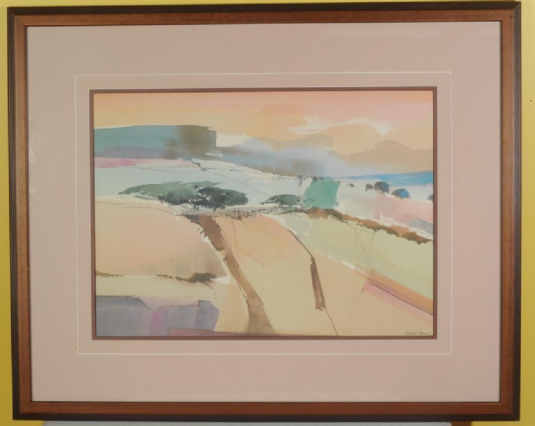 Richard Rennie (b. 1932) Watercolor