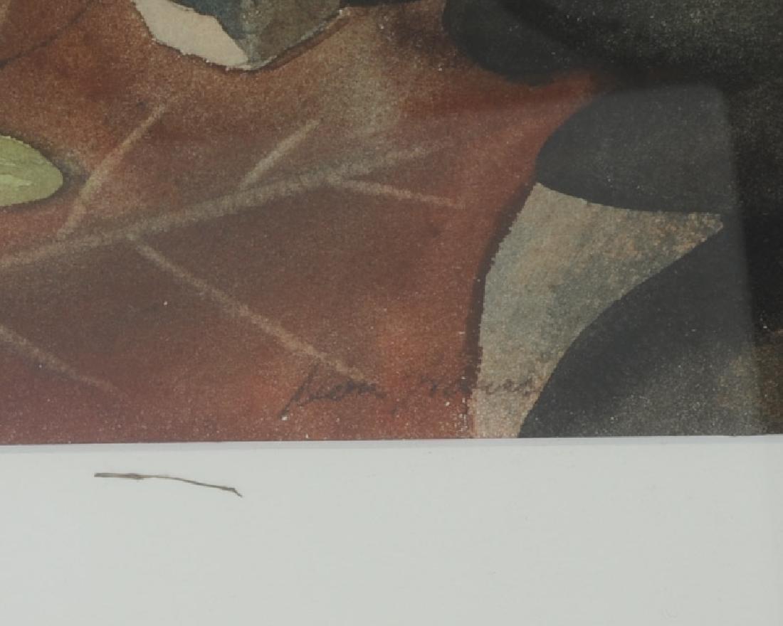 Watercolor of Leaves - 3