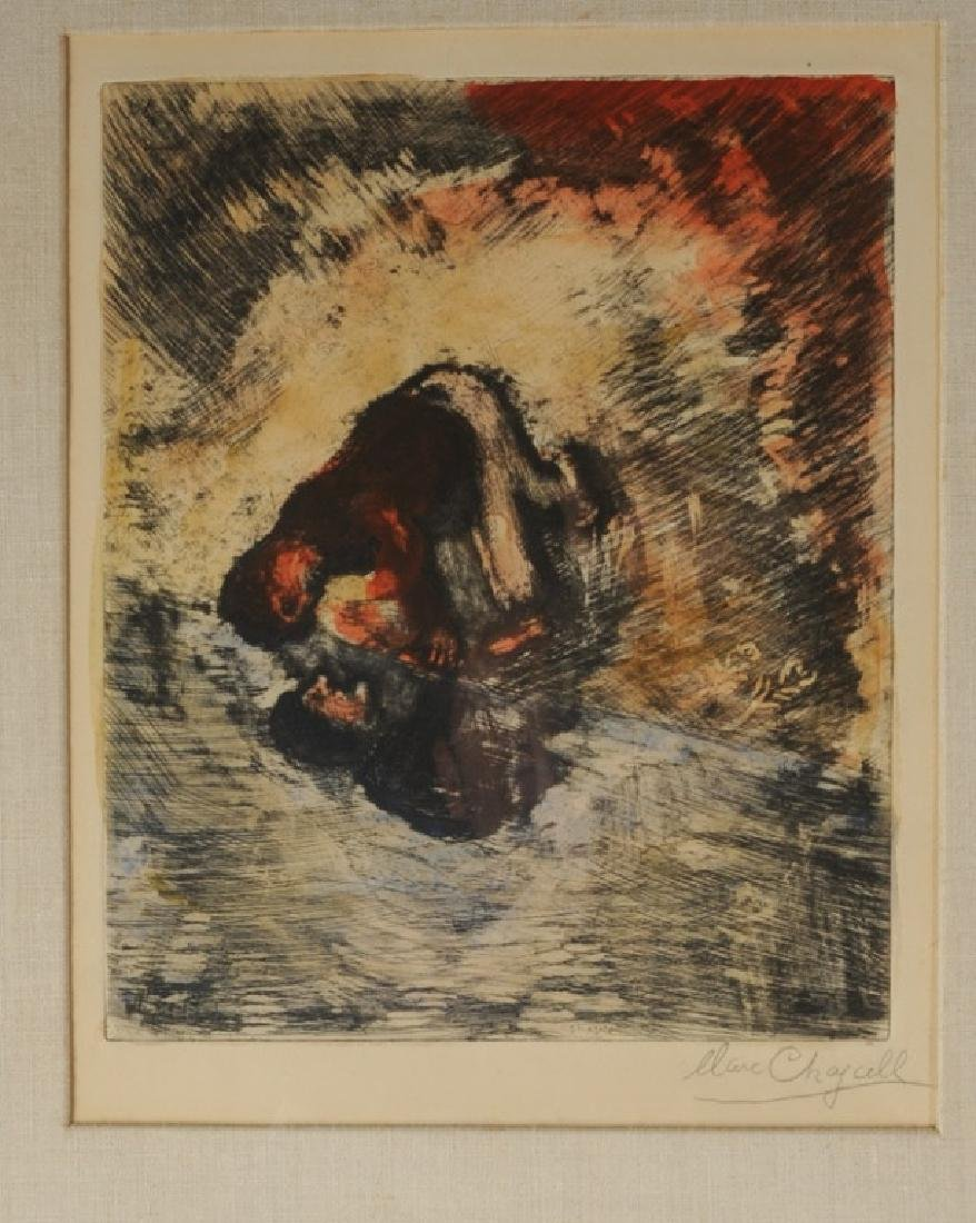 Marc Chagall (1887-1985) Pencil Signed Etching