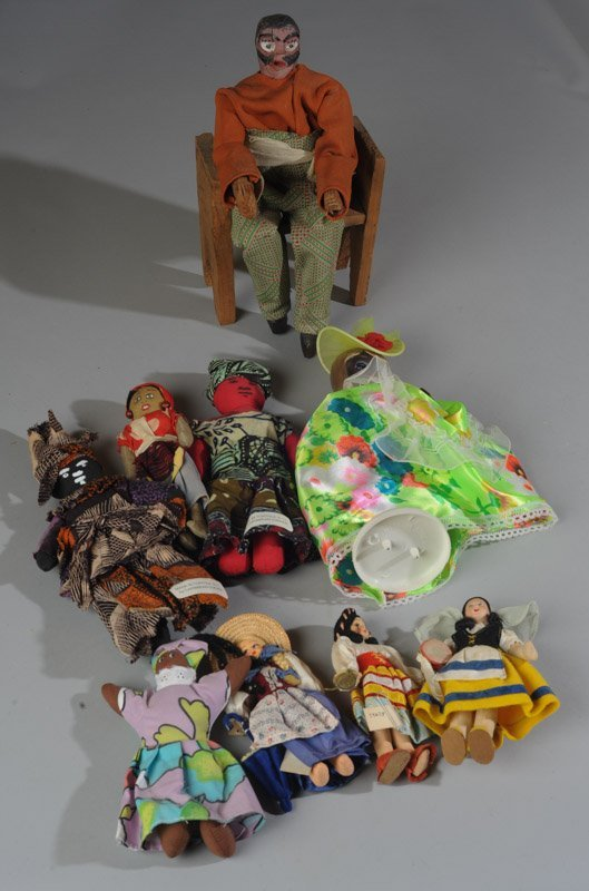 Large Lot of Dolls