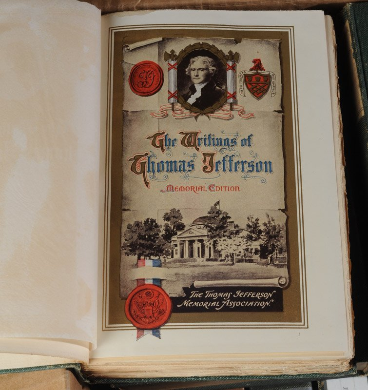 16 Volumes The Writings of Thomas Jefferson