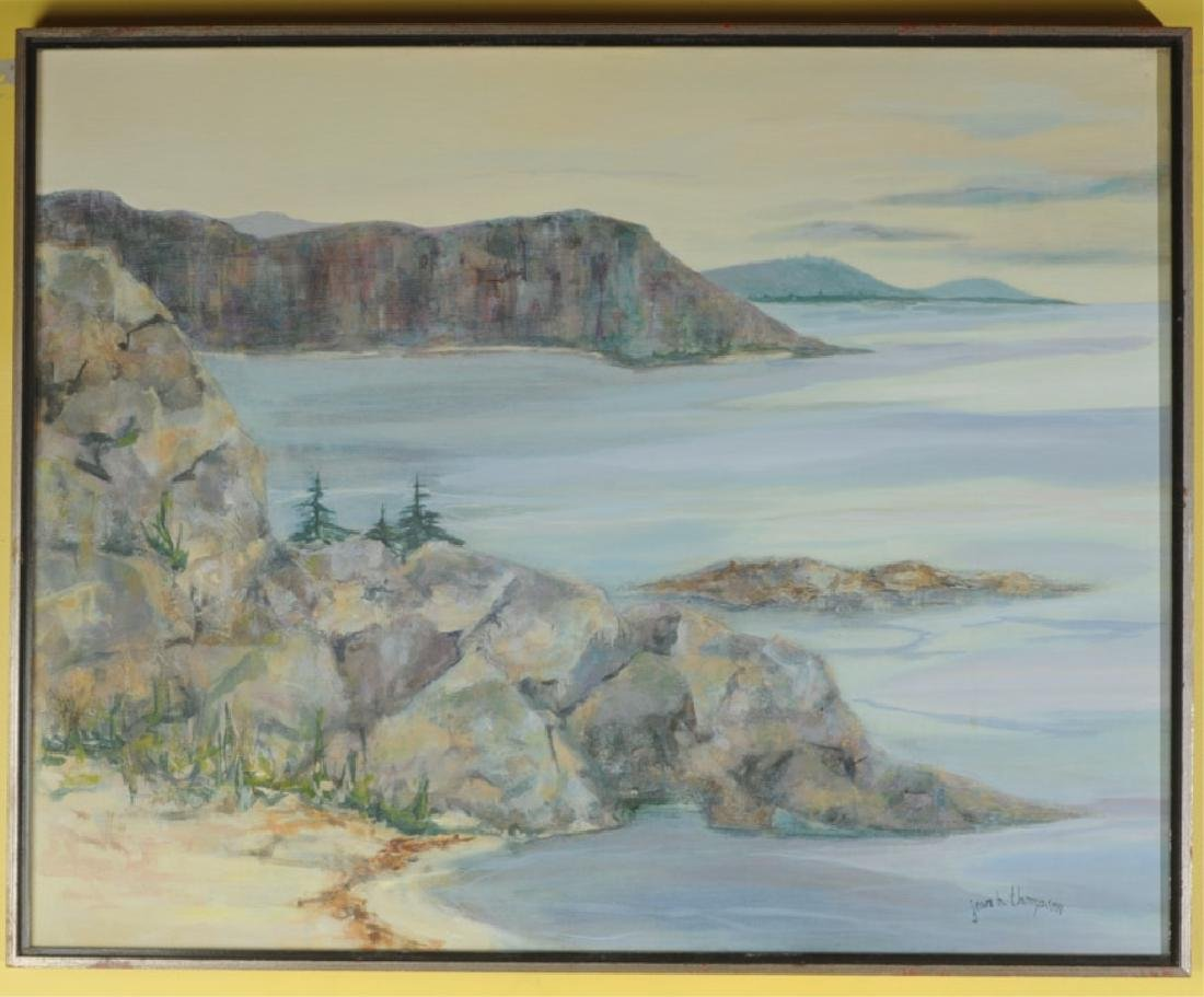 Jean B. Thompson Oil on Canvas