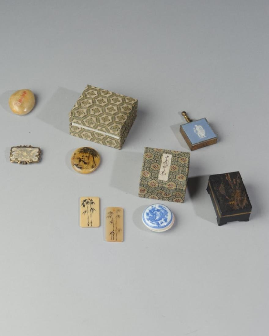 Mixed Lot Chinese and European Trinkets