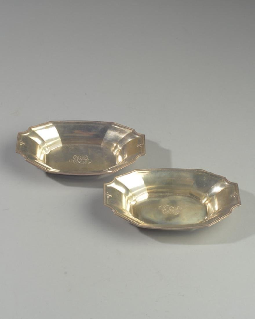2 Gorham Sterling Silver Nut Dishes 4051