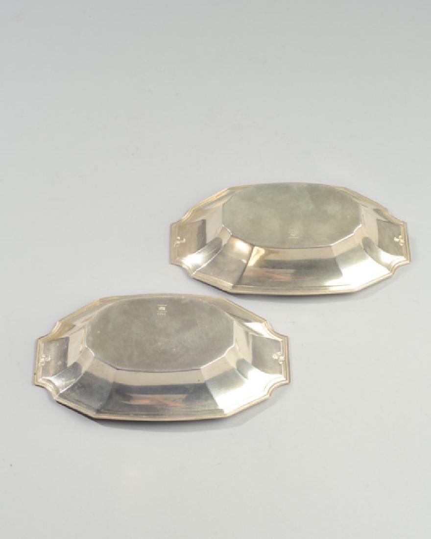 2 Gorham Sterling Silver Nut Dishes 4051 - 2