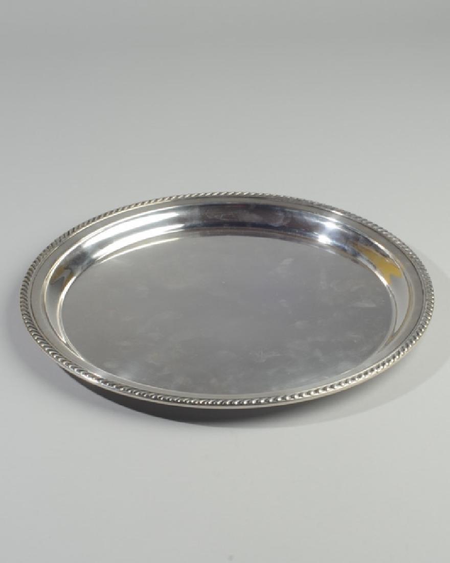 Gorham Sterling Silver Kensington Oval Tray