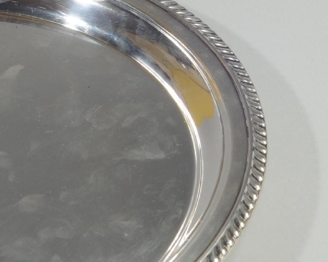Gorham Sterling Silver Kensington Oval Tray - 2