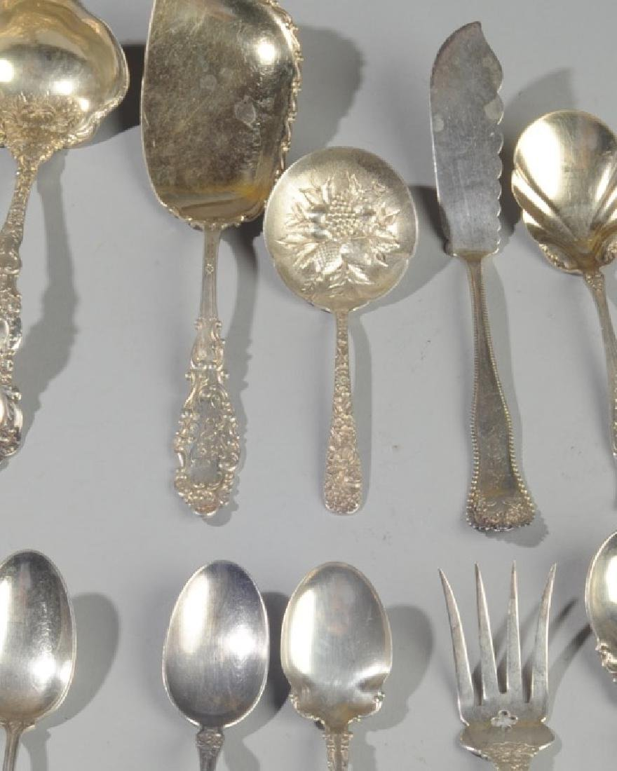 Mixed Lot of Sterling Silver Serving Pieces - 2