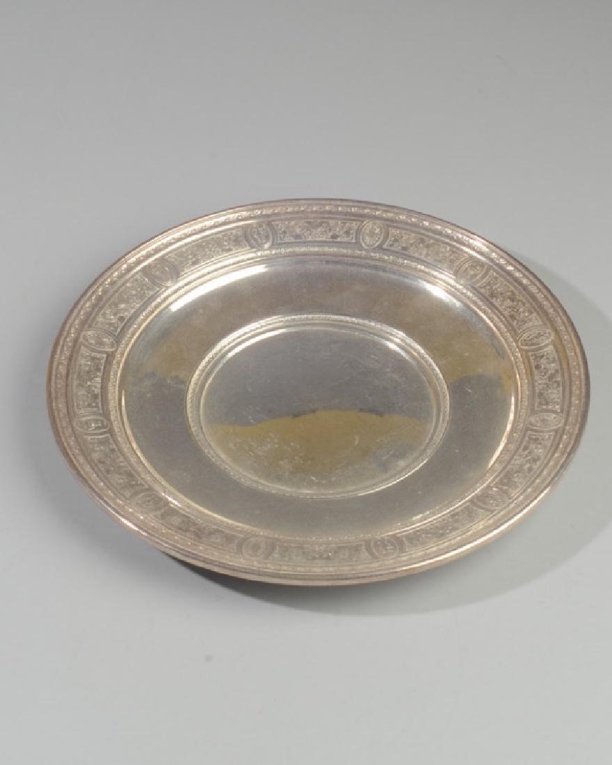 International Sterling Wedgwood Plate
