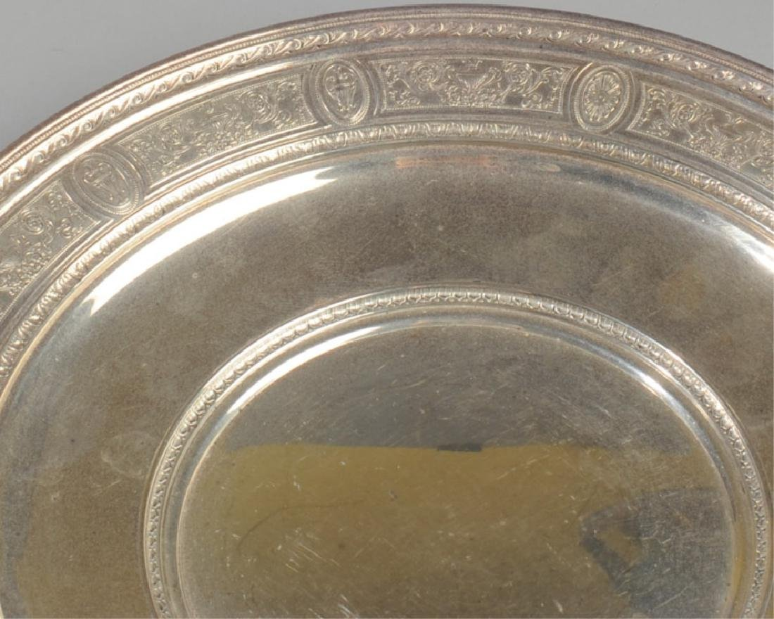 International Sterling Wedgwood Plate - 2